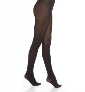 corrigerende zwarte panty
